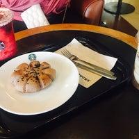 Photo taken at Starbucks by Thanyalak P. on 10/1/2017