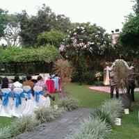 Photo taken at Kasa Bunga Garden Restaurant by yusac s. on 12/28/2012