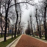 Снимок сделан в Тверской бульвар пользователем Sergey L. 11/21/2012