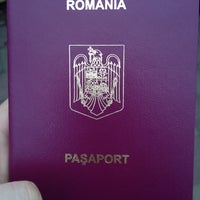 Photo taken at Consulatul României by Carina C. on 11/26/2013