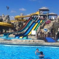 Photo taken at Turan Prince Aquapark by Anna V. on 9/19/2012