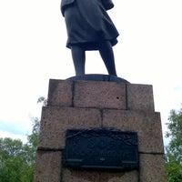 Photo taken at Памятник Зое Космодемьянской by Яна К. on 6/26/2016