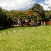 Photo taken at Condomínio Quintas Do Campo Largo by Erica E. on 12/19/2013
