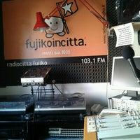 Foto scattata a Radio Città Fujiko 103.100 da Mat T. il 2/18/2013