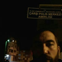 Photo taken at Çarşı Polis Merkezi Amirliği by Özer Ö. on 10/16/2015