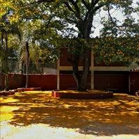 Photo taken at Escola Estadual Santos Amélia Musa by Ricardo C. on 10/7/2012
