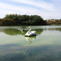 Photo taken at Parque Portugal - Lagoa do Taquaral by Paolo A. on 10/21/2012