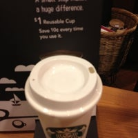 Photo taken at Starbucks by Mary R. on 1/18/2013