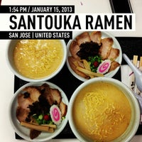 Photo taken at Santouka Ramen by Henley N. on 1/15/2013