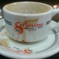 Photo taken at Sertanense Restaurante e Lanchonete by Paula R. on 4/11/2013