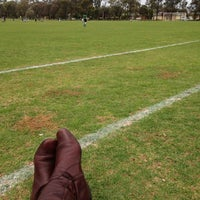 Photo taken at Para Hills West Soccer Club by Vanessa S. on 9/15/2012