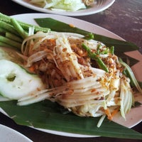 Photo taken at Pormtip Thai BBQ Seafood Restaurant by Tameer M. on 12/9/2012
