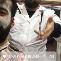 Photo taken at Topaloğlu kuaför salonu by Sinan ÇETİN on 3/15/2017