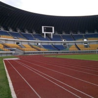Photo taken at Stadion Gelora Bandung Lautan Api (GBLA) by indra d. on 8/24/2013