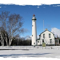 Photo taken at New Presque Isle Lighthouse by New Presque Isle Lighthouse on 11/24/2015