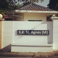 Photo taken at SRK St. Agnes by Lea on 2/6/2013