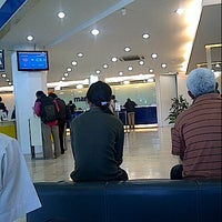 Photo taken at Bank Mandiri by Regina C. on 4/1/2013