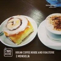 Photo taken at Ubean coffee house and roasterie by Anu H. on 2/21/2013