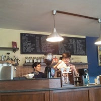 Photo taken at Ubean coffee house and roasterie by Anu H. on 4/13/2013