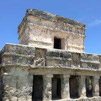 Photo taken at Tulum Archeological Site by Arturo M. on 7/8/2013
