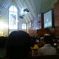 Photo taken at Gereja Koinonia by Lai Valentin R. on 9/27/2014