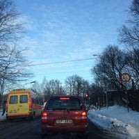 Photo taken at Pārbrauktuve by DJ Plastic i. on 12/21/2012