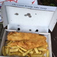 Photo taken at Oban Bay Fish & Chip Shop by Marcus. on 5/21/2017