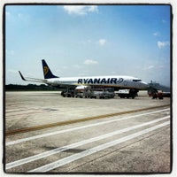Photo taken at Treviso-Sant'Angelo Airport (TSF) by Valentina B. on 5/4/2013