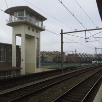 Photo taken at Station Amsterdam Muiderpoort by Ronald K. on 2/27/2013