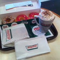 Photo taken at Krispy Kreme by Aniel S. on 12/13/2012