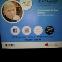 Das Foto wurde bei SCE Strascheg Centre for Entrepreneurship von Juliane F. am 11/29/2012 aufgenommen