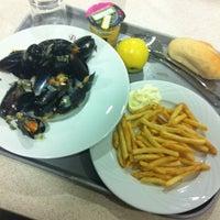 Photo taken at Restaurant Entreprise by céline m. on 3/21/2014