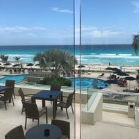 Photo taken at Barceló Tucancún Beach by Lourdes O. on 5/18/2018