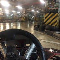 Photo taken at Ada Karting by Samet on 2/18/2018
