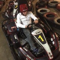 Photo taken at Ada Karting by Samet on 11/27/2017