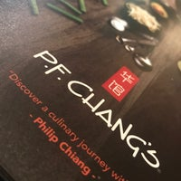Photo taken at P.F. Chang's by A. 🎶 A. on 4/19/2018