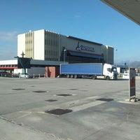 Photo taken at Area di Servizio Scaligera Nord by Franco M. on 11/14/2012