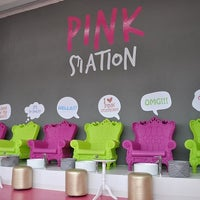 Photo taken at Pink Station by Pink Station on 10/7/2015