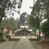 Photo taken at 小村神社 by のりぞう U. on 2/1/2016