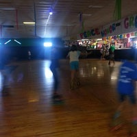 Photo taken at Red Bird Skateland by Gus R. on 7/22/2014