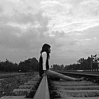 Photo taken at Stasiun Patukan by Wenang E. on 10/16/2014