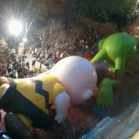 Photo taken at Macy's Parade Balloon Inflation by NYCphotos on 11/21/2012