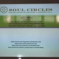Photo taken at Soul Circle Reiki Class by Jon on 8/4/2013