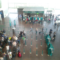 Photo taken at Terminal 2 by Anelise P. on 4/28/2013