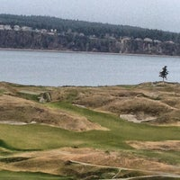 Photo taken at Chambers Bay Golf Course by Jason G. on 2/25/2013