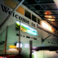 Photo taken at Southampton Airport (SOU) by Adam P. on 12/30/2012