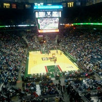 Photo taken at BMO Harris Bradley Center by Susan R. on 4/4/2013