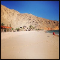 Photo taken at Six Senses Zighy Bay by Arz A. on 1/2/2013