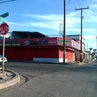 Photo taken at Tacos El Compa Victor by Raul L. on 1/26/2014