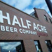 Photo taken at Half Acre Beer Company by oma t. on 3/2/2013